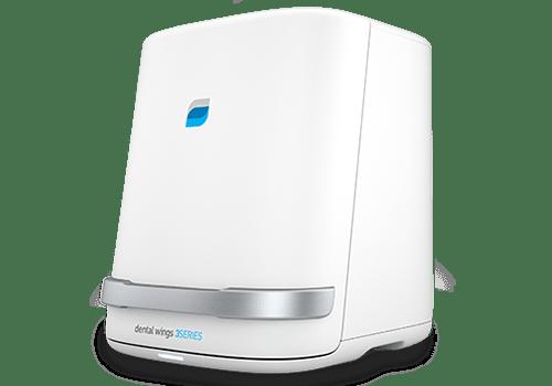 SCANSIONE dell'impressione o del modello creato dall'impressione con uno scanner 3D con software DWOS integrato